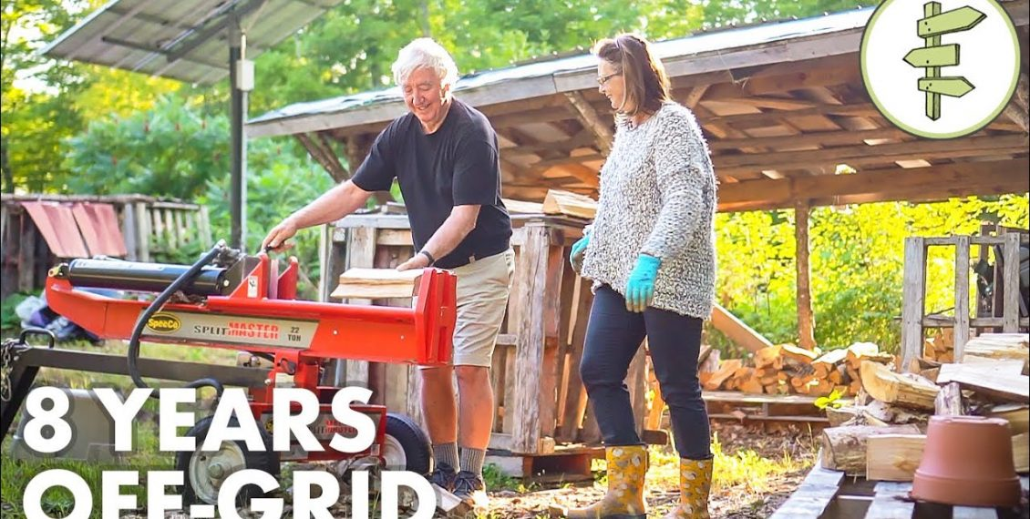 Retired Couple Living Off-Grid Share Their 8-Year Experience...