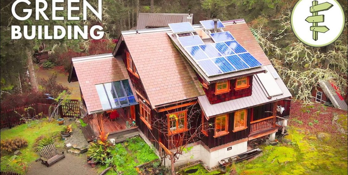 Impressive House Built With Sustainable & Reclaimed Materials...