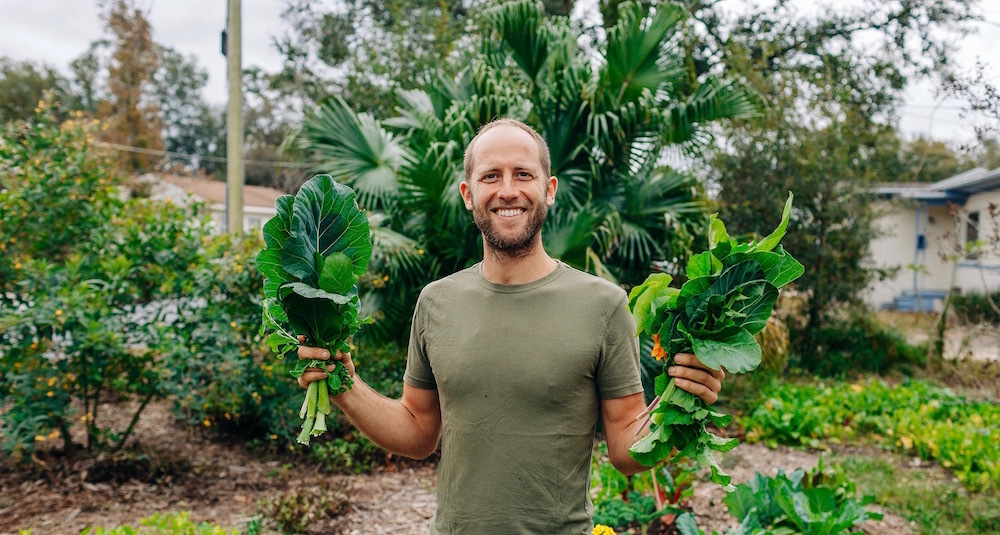 This Guy Grew & Foraged For 100% Of His Food For An Entire Year...