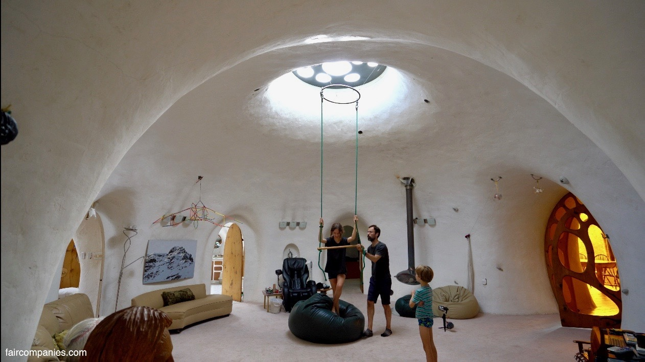 dome underground earth integrated eco