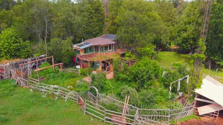 12 Years Living Off-Grid On A Sustainable Homestead In A Self-Built Cob Home...