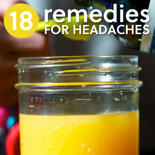 18 Natural Remedies to Relieve Headache Pain & Tension