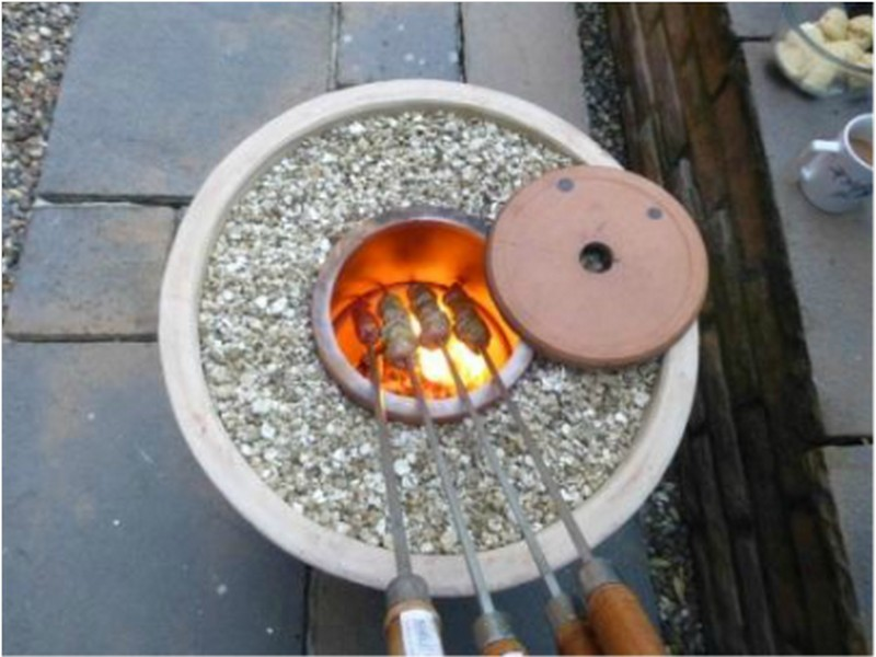 How To Make A Tandoori Oven With Flower Pots To Cook Authentic Indian Food...