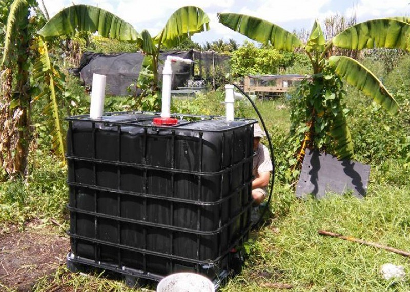 How To Make Your Own Natural Gas At Home With A BioDigester…