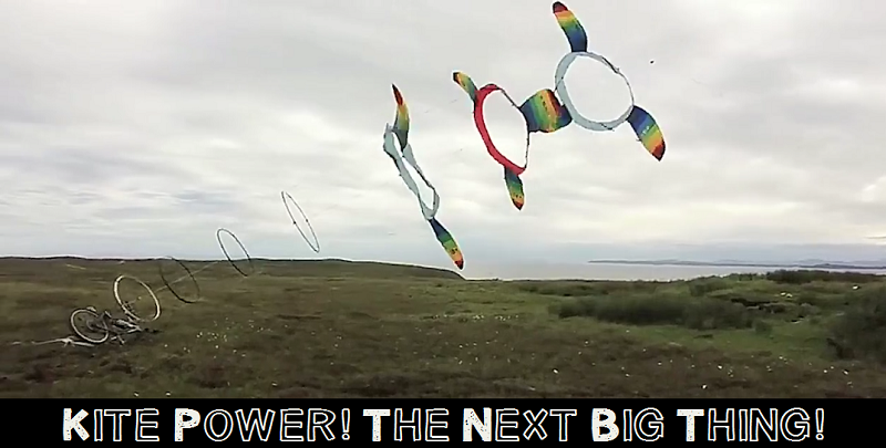 Kite Powered Wind Turbines Harness The Wind To Generate Clean Energy...