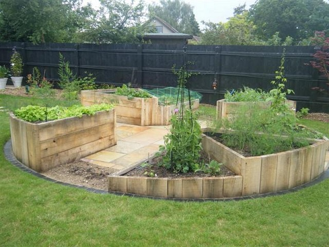 Ideas & Inspiration For Building A Raised Garden Bed...