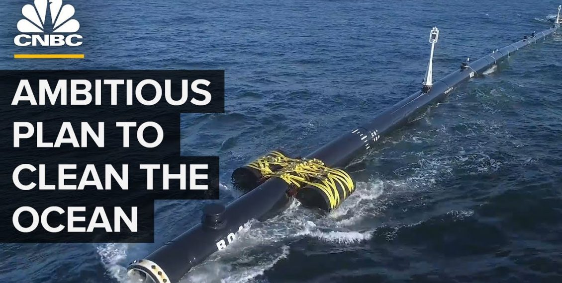 The Ocean Cleanup Has Launched Aiming To Cut Great Pacific Patch 90% By 2040...
