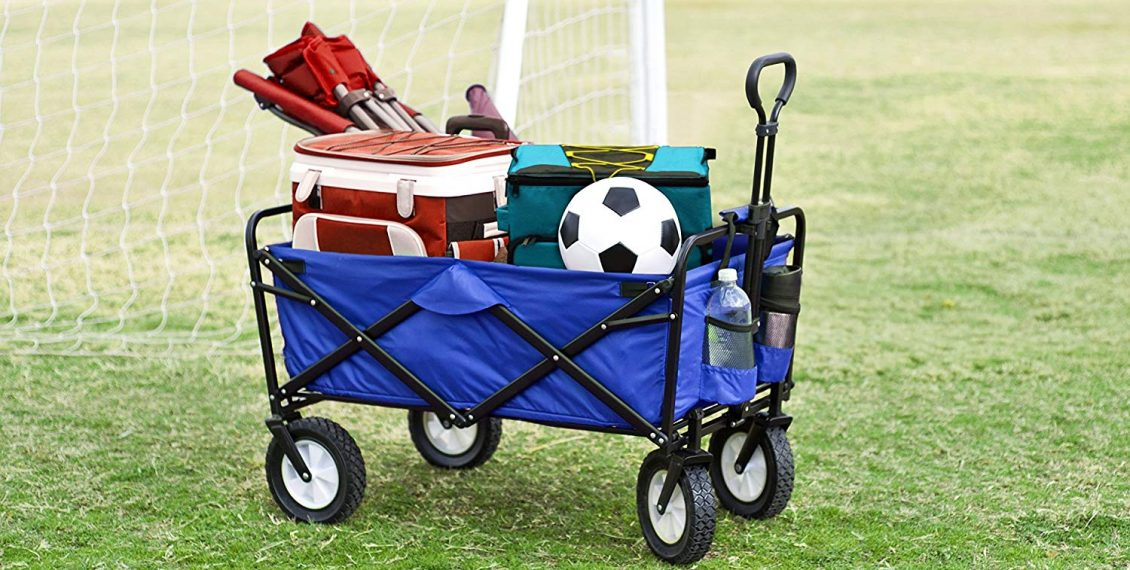 Best Folding Wagons For Gardening, Camping & Outdoors - Reviews...