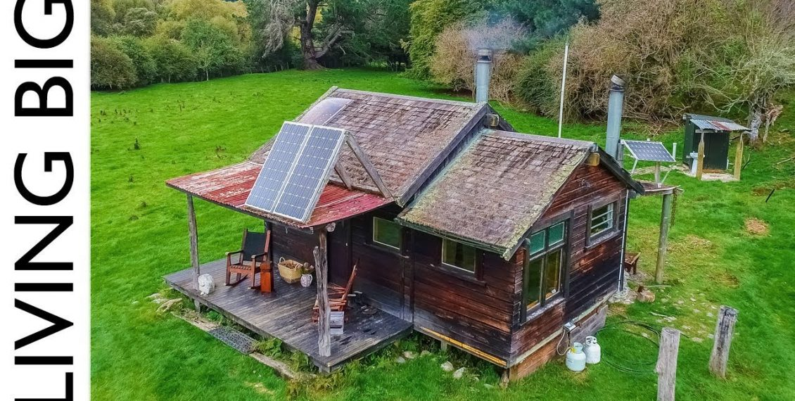 Off The Grid Cabin In New Zealand Paradise...