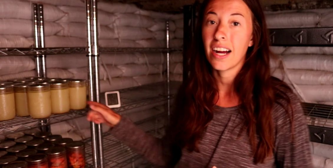An Awesome Underground Earthbag Root Cellar Build...