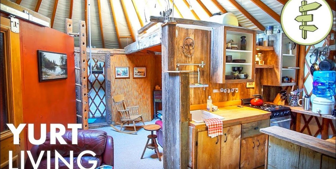Man Shares Real Life Experience After 14 Years Living Off-Grid In A Yurt...