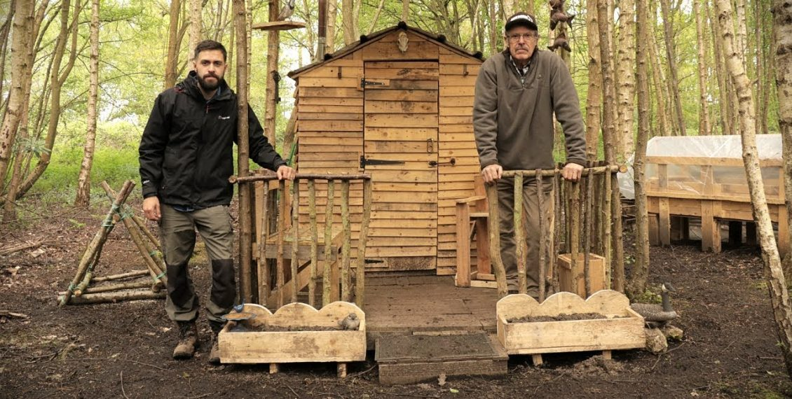 Cheap Off Grid Homestead – Building A Cabin From Pallet Wood...