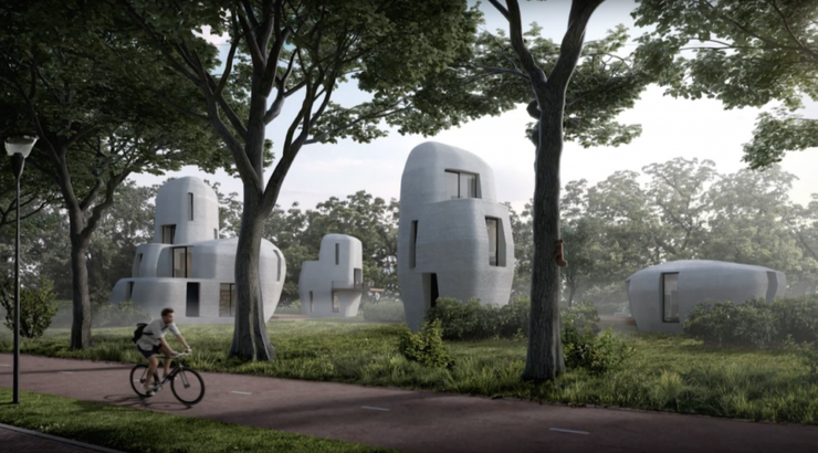 3D Printed Houses Made From Hemp...