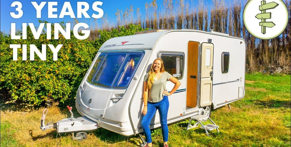 Low-Cost Living In A TINY Camper For 3 Years...