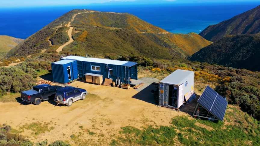 Epic Off-The-Grid Container Home In Breathtaking Location...