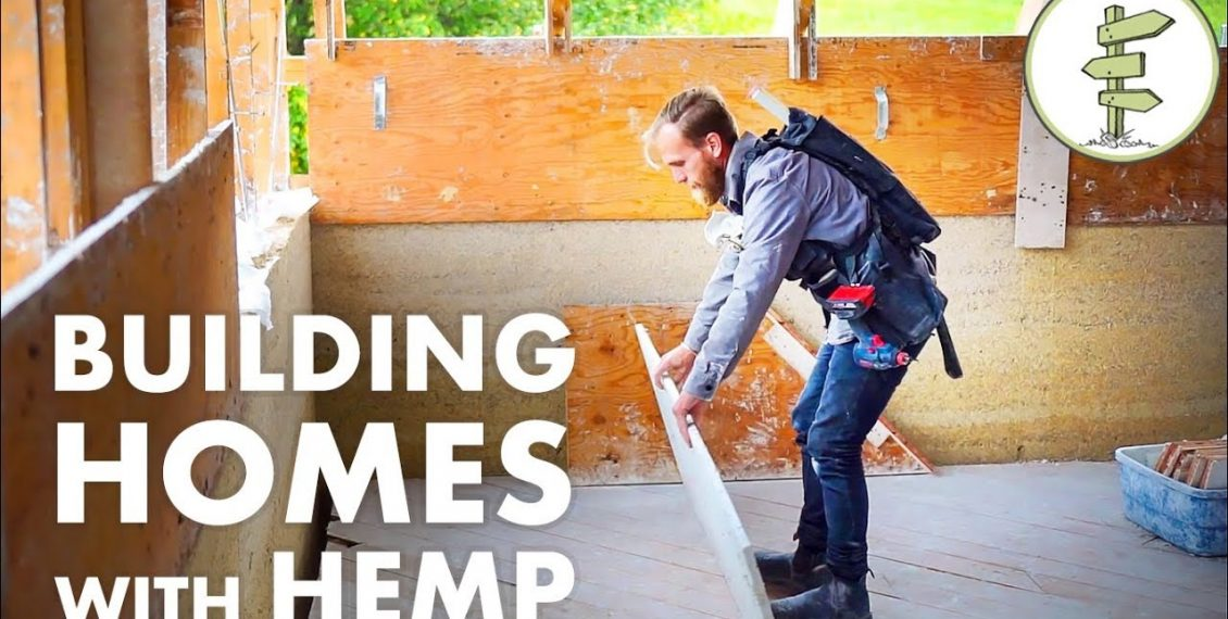 Building With Hemp – An Incredible Natural Insulation & Sustainable Material...