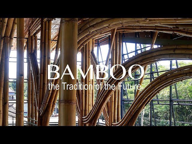 Bamboo – The Tradition Of The Future In Architecture & Design...
